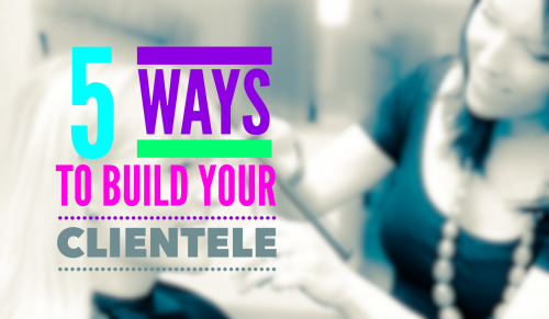 Check out 5 simple tips that will really help you build your clientele.