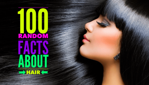 Bored? Check out 100 random facts about hair from HolleewoodHair.com