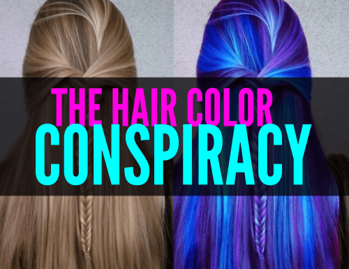 Have you ever wondered how some of these girls get such perfectly vibrant hair colors? The answer may surprise you!