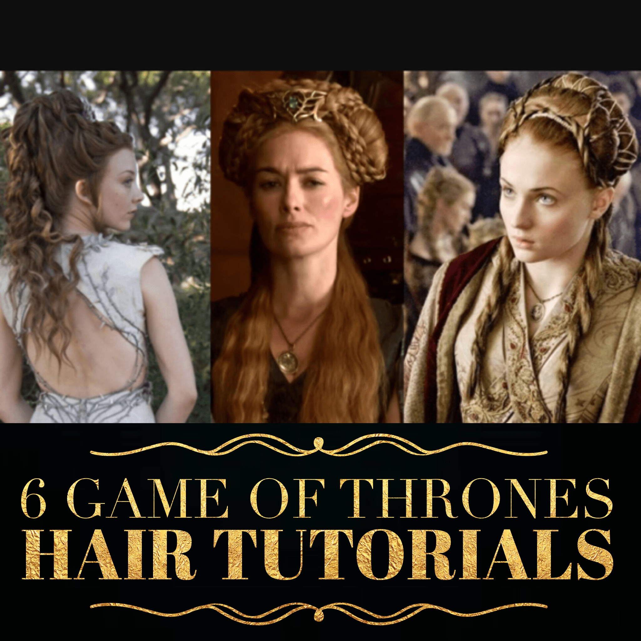 6 game of thrones hair tutorials holleewoodhair in light of the new game of thrones season premiering today i decided to post baditri Images