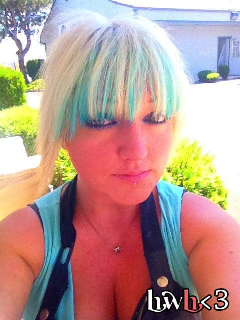 Kool-Aid Colored Hair with Blue Raspberry. Learn how to color your hair with Kool-Aid...