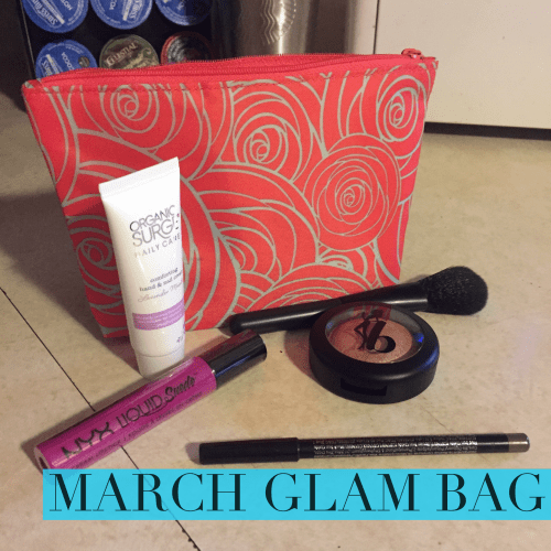 Check out what was in my March Glam Bag from Ipsy!